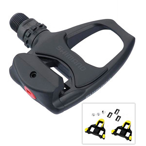 Shimano PD R540 SPD SL Clipless Road Pedals BLACK LIGHT ACTION